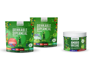 Complete Meal Shake and AmbroGreens