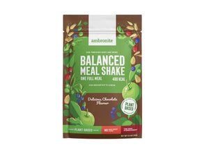 Balanced Meal Shake Full Meal Pouch Chocolate Flavor