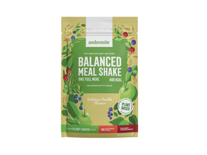 Balanced Meal Shake Full Meal Pouch Vanilla Flavor