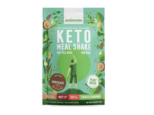 Keto Meal Shake Full Meal Pouch Chocolate Flavor
