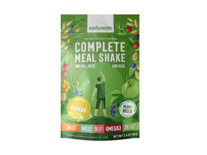 Ambronite Complete Meal Shake Full Meal Pouch, Banana Flavor