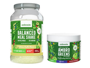 Balanced Meal Shake Vanilla and AmbroGreens