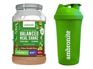 Balanced Meal Shake Chocolate and Shaker