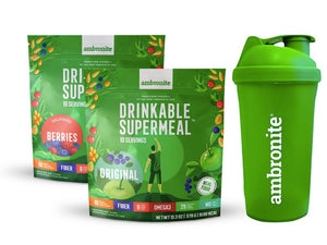 Complete Meal Shake Original and Berries Flavors and Shaker
