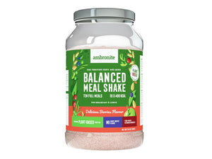 Balanced Meal Shake Tub Berries Flavor