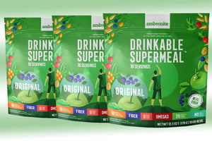 Ambronite Supermeal - 3 x 1600 kcal Bundle, Original, 10% Off
