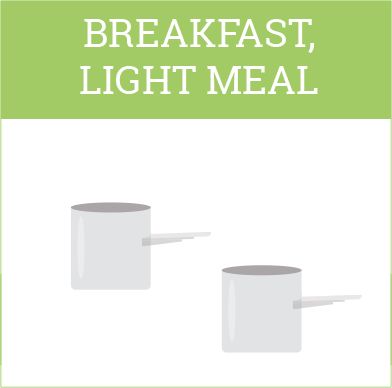 Ambronite breakfast meal size