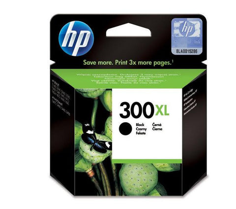 HP 300XL ink cartridge - black - 600 pages - CC641EE#UUS