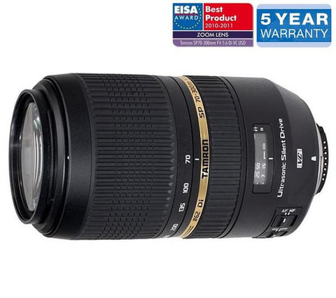 TAMRON SP 70-300 mm f/4-5.6 Di USD Lens - A005 S