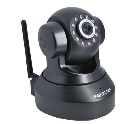 FOSCAM FI8918W wireless-enabled IP camera - black - FI8918WB