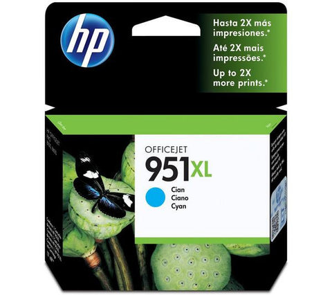 HP Officejet 951XL Ink Cartridge - cyan - 1,500 pages (CN046AE) - CN046AE#BGX