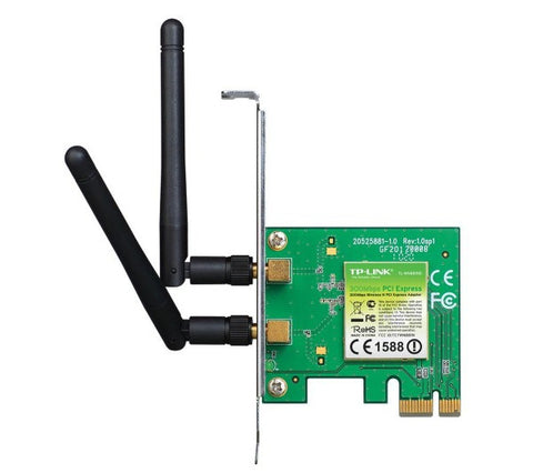 TP-LINK TL-WN881ND 300 Mbps Wireless-N PCI Adapter  - TL-WN881ND