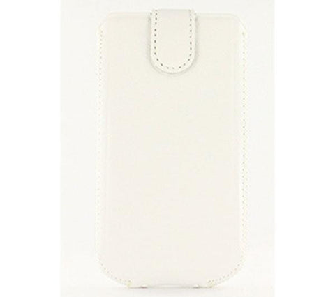 SWISS CHARGER Autolift (SCP10077) - white - Universal leather case (Size L) - SCP10077