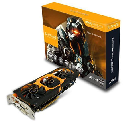SAPPHIRE TECHNOLOGY Toxic R9 270X with Boost (UEFI) - 2 GB GDDR5 - PCI-Express - graphics card - 11217-02-40G