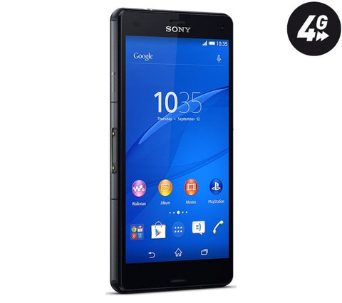 SONY Xperia Z3 Compact - black - 16 GB - 4G - Smartphone - 1288-9129