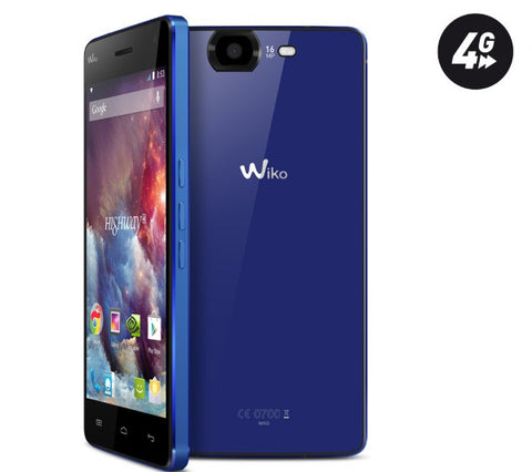 WIKO Highway 4G - electric blue - 16 GB - 4G - Smartphone - HIGHWAY 4G BLUE ELEC
