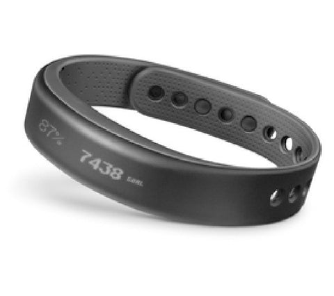 GARMIN Vivosmart - grey (small) - Smart bracelet - 010-01317-05