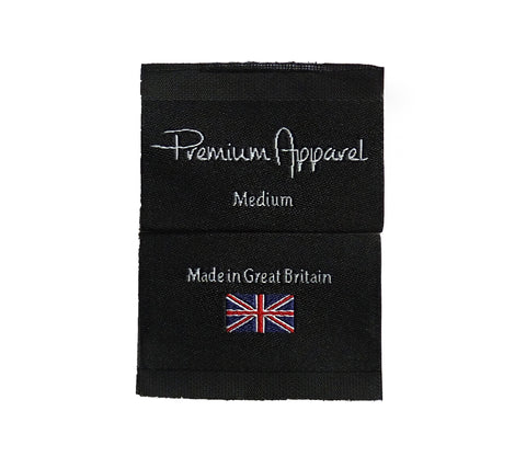 Premium Apparel Made in Great Britain Label