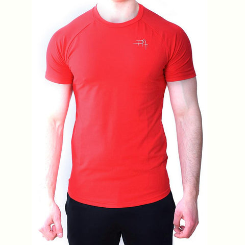 Premium Apparel Eclipse T-Shirt Imperial Red Front