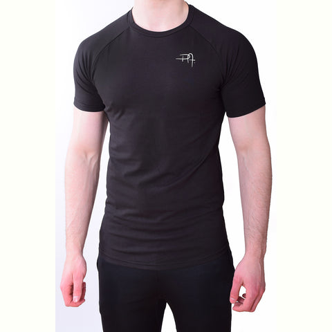 Premium Apparel Eclipse T-Shirt Onyx Black Front