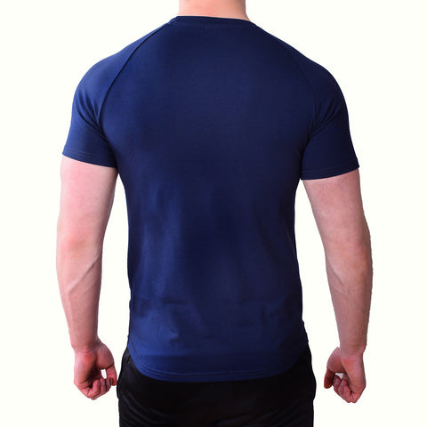 Premium Apparel Eclipse T-Shirt Midnight Blue Back