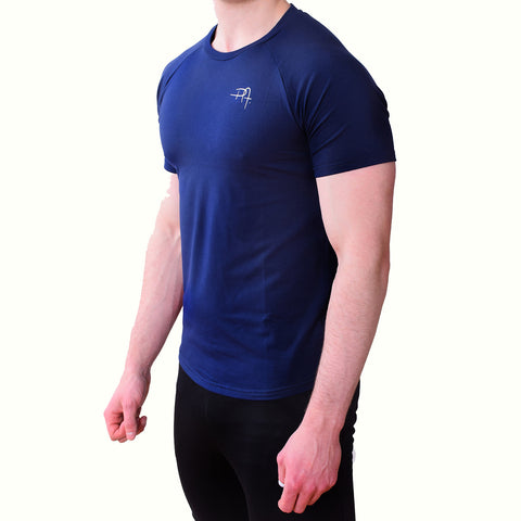 Premium Apparel Eclipse T-Shirt Midnight Blue Side