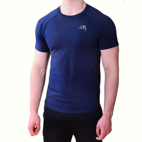 Premium Apparel Eclipse T-Shirt Midnight Blue Front