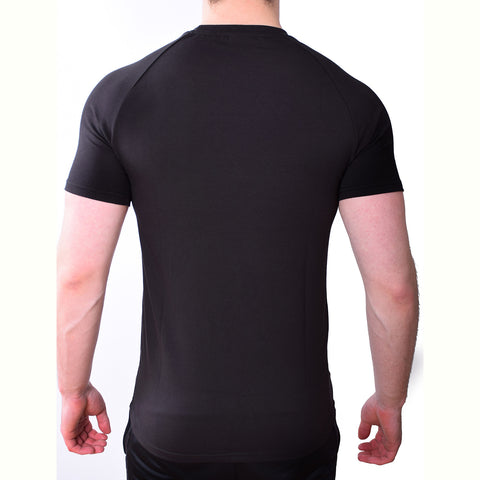 Premium Apparel Eclipse T-Shirt Onyx Black Back