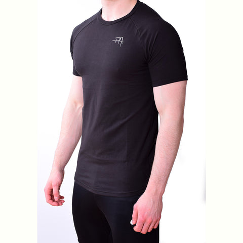 Premium Apparel Eclipse T-Shirt Onyx Black Side