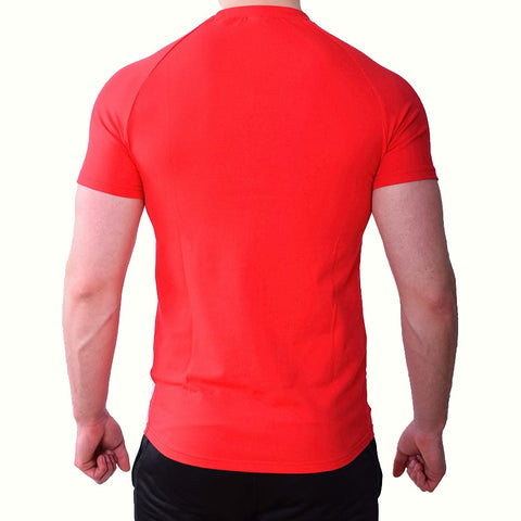 Premium Apparel Eclipse T-Shirt Imperial Red Back