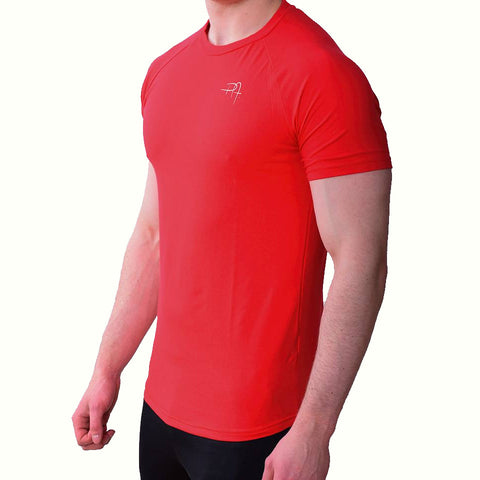 Premium Apparel Eclipse T-Shirt Imperial Red Side