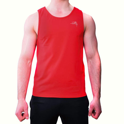 Premium Apparel Eclipse Vest Imperial Red Front