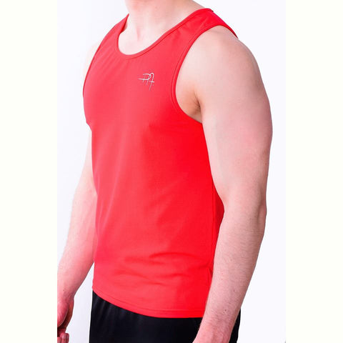 Premium Apparel Eclipse Vest Imperial Red Side