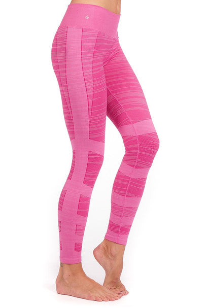 NUX USA Pink Wave Journey Leggings