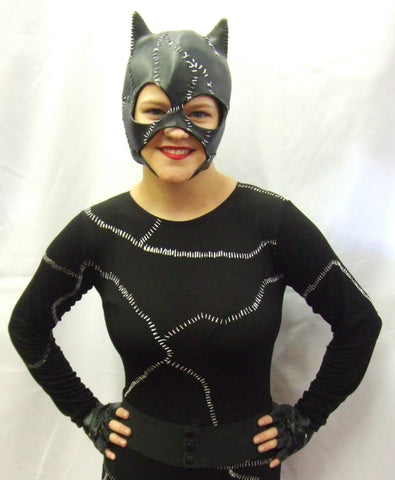 Cat Woman Hire ~ superhero fancy dress  ~ Size 10 - 12