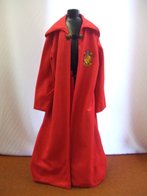 Harry Potter Cloak ~ Red ~ Hire ~ Childrens fancy dress age 5 - 7 & Harry Potter Cloak ~ Red ~ Hire ~ Childrens fancy dress age 5 - 7 ...