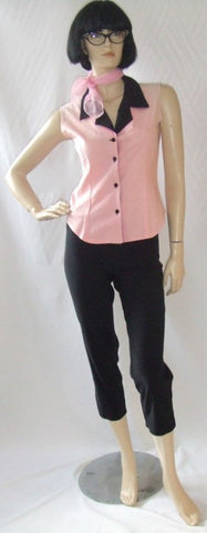 Pink Ladies costume ~   1950's fancy dress ~ 1970's  Hire ~ size 10 - 12