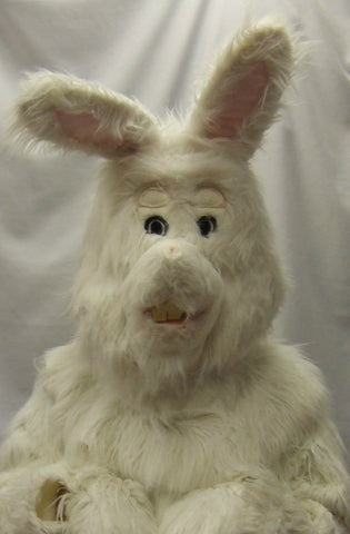 Fluffy Bunny ~ Easter Rabbit Hire Costume ~ Hire ~ One size