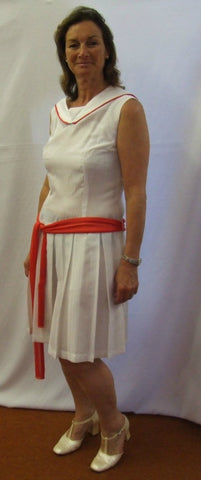1920s Tennis Dress ~ Size 12 - 14 Hire