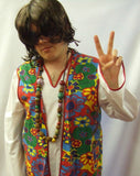 "1960's / 1970's Hippy Dude ~ Woodstock ~ 44"" chest ~ flower power"