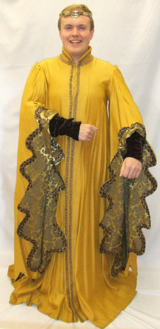 Medieval Nobleman Yellow and Gold ~  Hire ~ 40