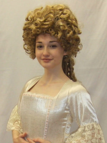 18th Century  Gown ~ Milk Maid  ~ Marie Antoinette ~ Cream ~ Size 6 ~ Pompadour