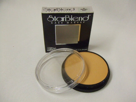 Mehron Starblend Cake Make-up ~ Neutral Buff ~ 24