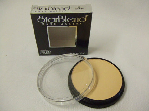 Mehron Starblend Cake Make-up ~ Light Buff ~ 22