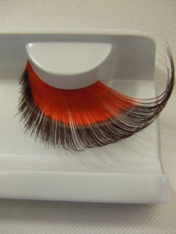Supersize False Eyelashes ~ Red / Black ~ Devil ~ Dame ~ Drag ~ Halloween ~ 260