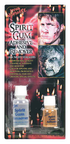 Spirit Gum and Remover Set, make-up glue