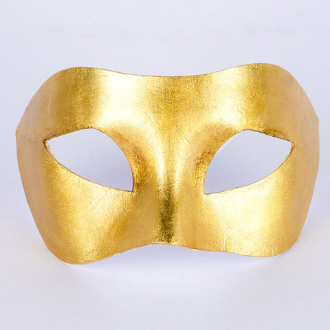Gold Venetian Mask ~ Masquerade Ball ~ party ~ 121/4pg