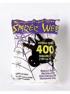 Giant Spider Web ~ 400 sq ft ~ Halloween Decoration ~ Prop