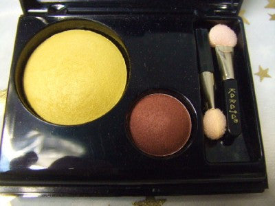 Eyeshadow Duo Set ~ Dame ~ Ugly sisters ~ Pantomime ~ Gold and Brown
