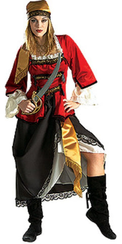 Pirate Queen fancy dress costume ~ Hire ~ Size 18 - 20